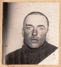 Fedor Mikulin – photograph on his Gulag release document on display in Magadan; it allowed him to travel from Kolyma to Buzuluk to the Czechoslovak military unit