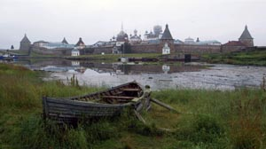 Cloister on the Solovetsky Islands, a place of suffering for thousands of victims of the Soviet regime, including dozens of persons originally from Czechoslovakia. Pictured in 2016